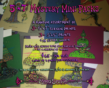 "5""x7"" Mystery Mini Pack Drop in Shop"