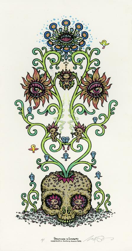 """Sproutlings in Symmetry"" White AP"