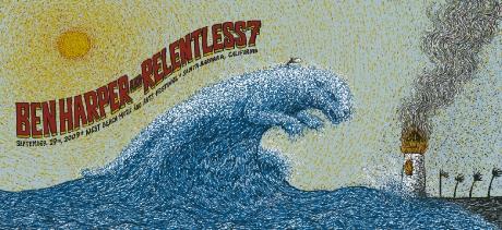 Ben Harper & Relentless7 - Santa Barbara Poster