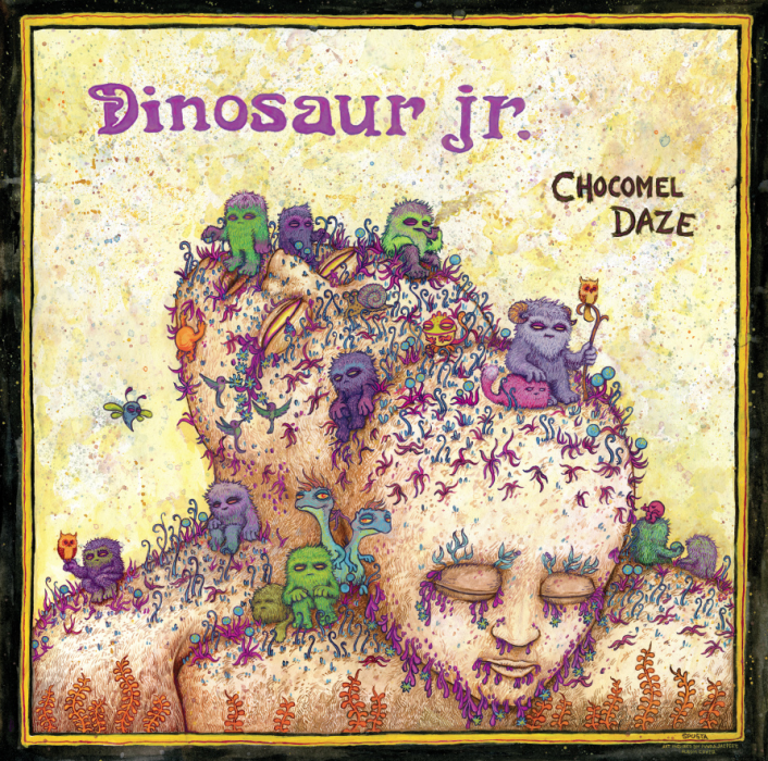 Dinosaur Jr.\'s Chocomel Daze album cover