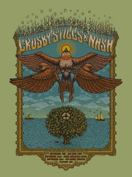 Crosby Stills and Nash California