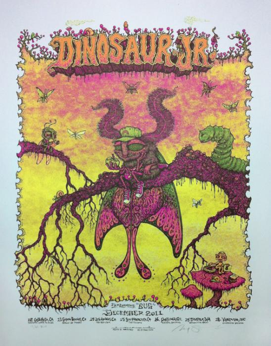 Dinosaur Jr. - December Bug Tour Poster