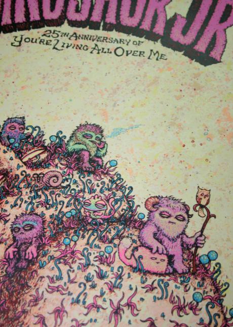 Dinosaur Jr - New York, NY Poster (Close-up)