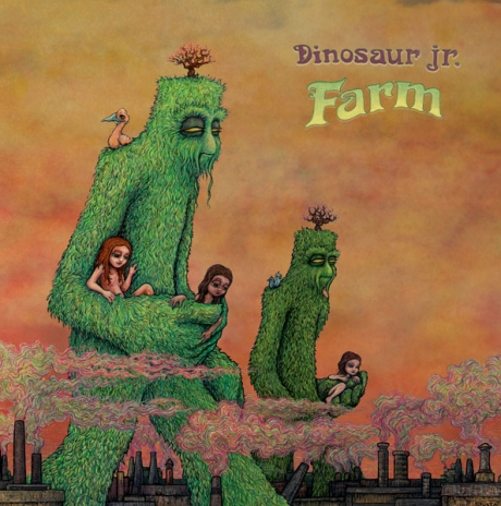 Dinosaur Jr. album cover