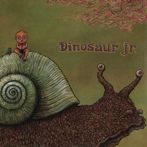 Dinosaur Jr. record cover 1