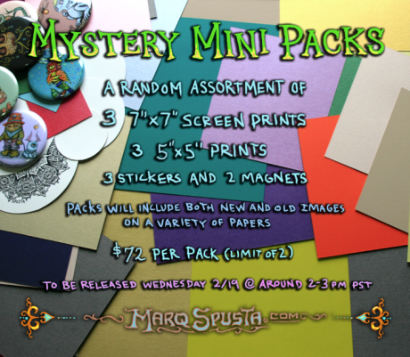 Mini Print Mystery Packs