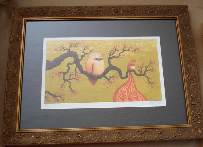 Branch with Birds - Frame-up Winner