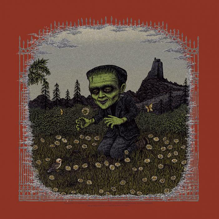 Frankenstein (Universal Classic Monsters) screen print