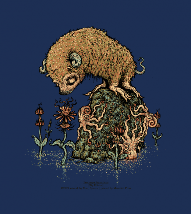 Froompa Aquaticus screen print