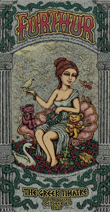 Furthur Greek Poster Night 1