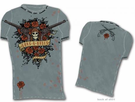 Guns N\' Roses Shirt Graphic