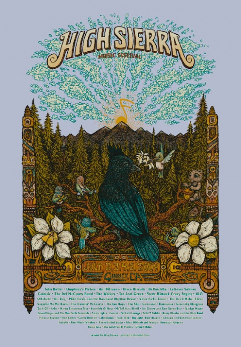 High Sierra Music Festival Poster