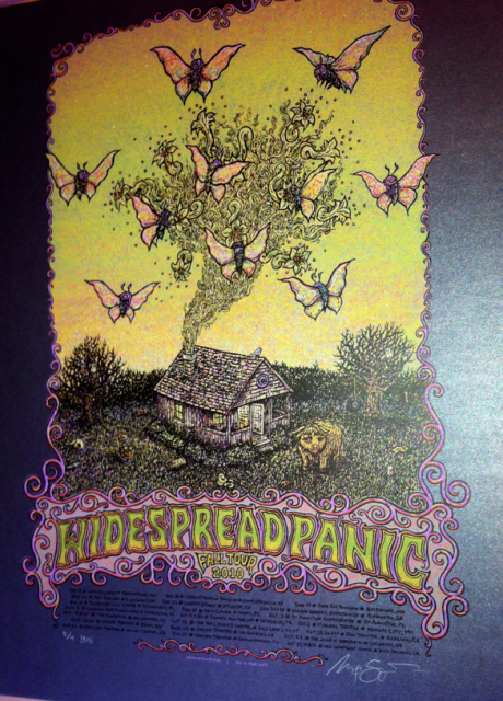 Widespread Panic Fall 2010 (Iron of 4)=$150