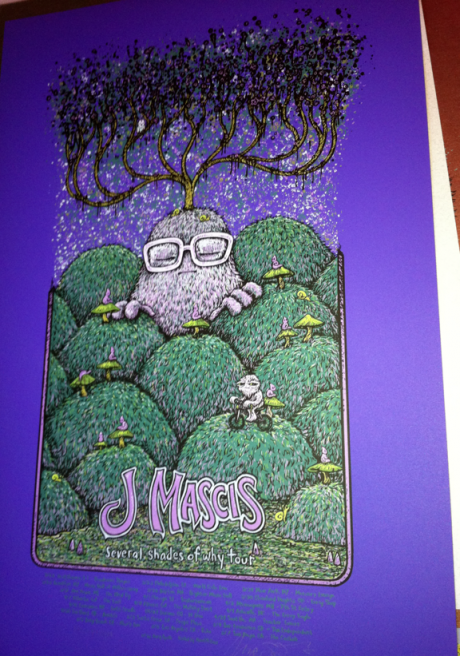 J Mascis Tour (Purps of 22)=$80