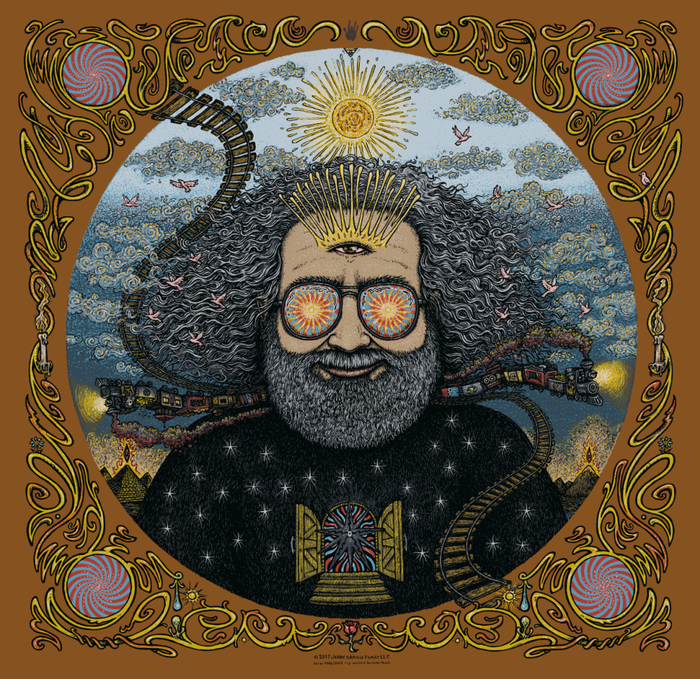 Jerry Garcia Bicycle Day Print - Artist Edition
