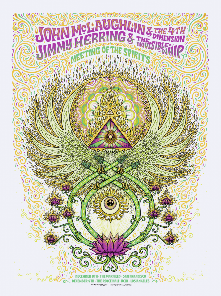 John McLaughlin / Jimmy Herring Poster