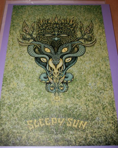 Sleepy Sun - Green Edition of 12