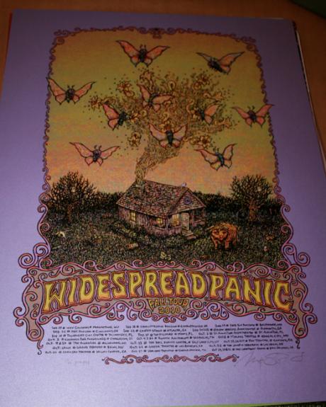 Widespread Panic - 2010 Fall Tour, Purple Variant