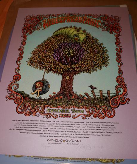 Widespread Panic - 2010 Summer Tour, Purple Variant