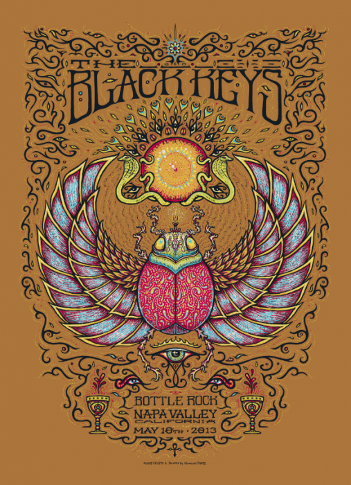 The Black Keys - Bottle Rock Poster