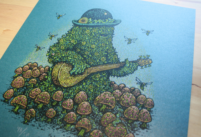 Mr. Bloomjangles.....the mystery print revealed