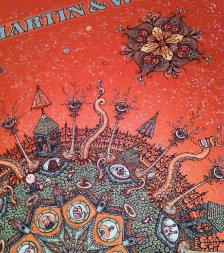 Medeski Martin & Wood November 2011 Tour Poster