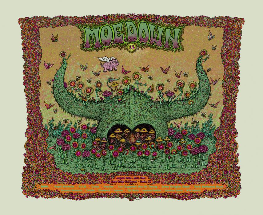 Moe.Down Festival Poster