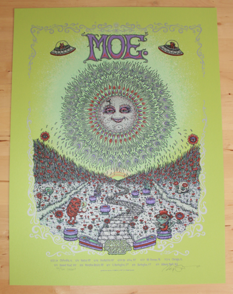 Moe. Silver Summer Tour Poster