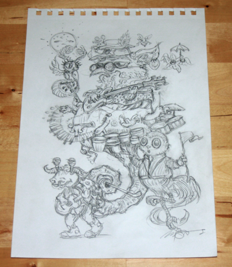 Mish Mush/Umphrey's McGee concept sketch