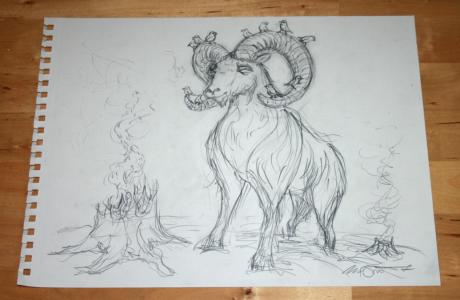 Stump & Moutain Goat
