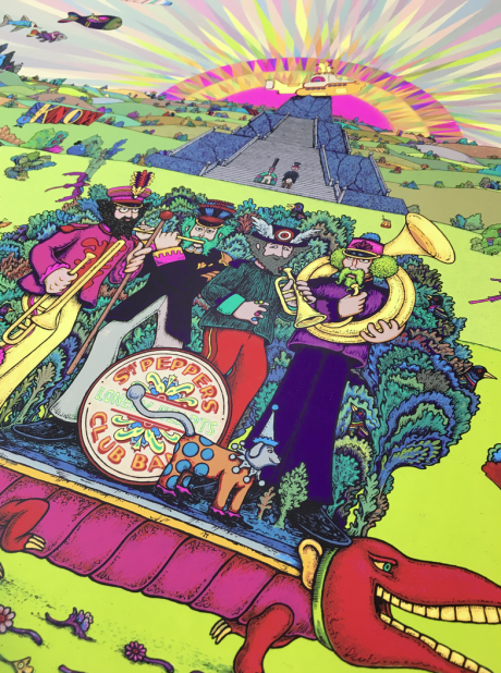 Pepperland - Sgt. Peppers & Yellow Submarine