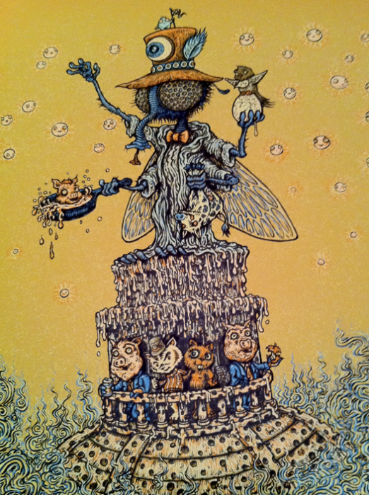 Primus poster close-up