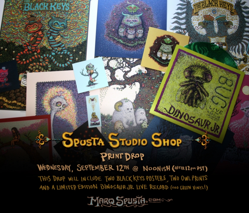 Spusta Studio Shop Print Drop