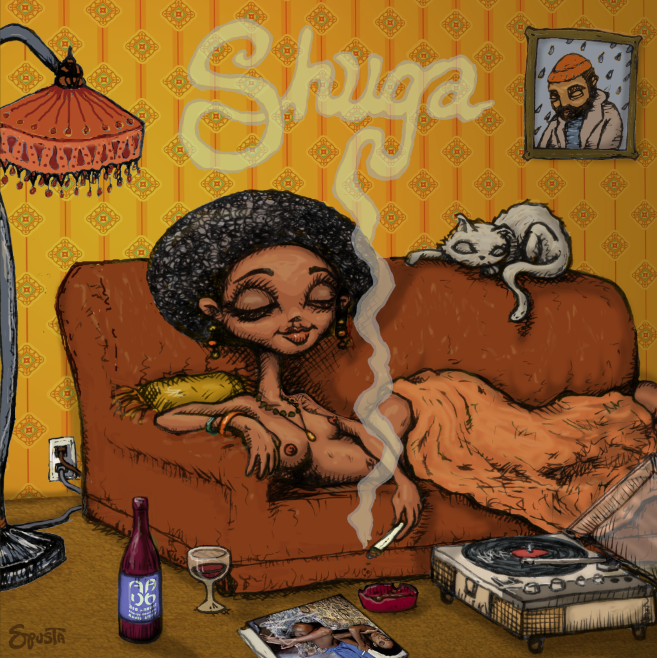 Shuga CD packaging