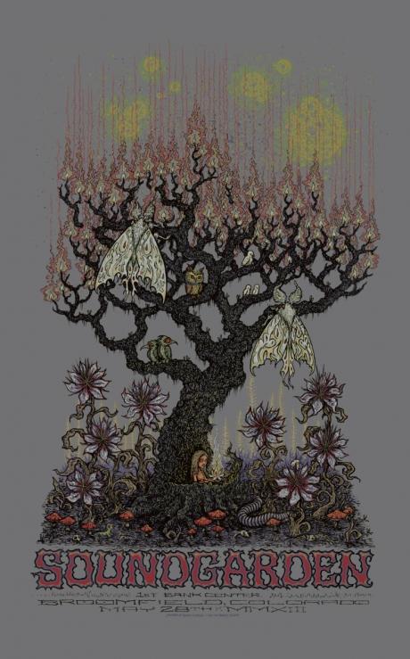 Soundgarden Broomfield Poster