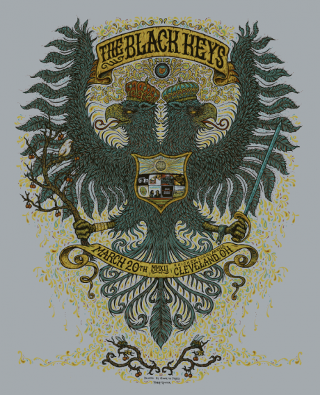 The Black Keys - Cleveland Poster