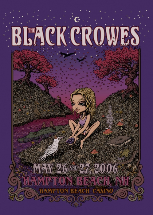 The Black Crowes - Hampton Poster