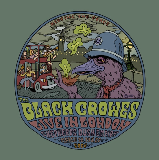 The Black Crowes Event Graphic
