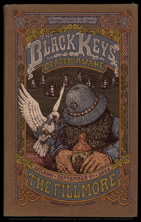 The Black Keys - Fillmore Poster
