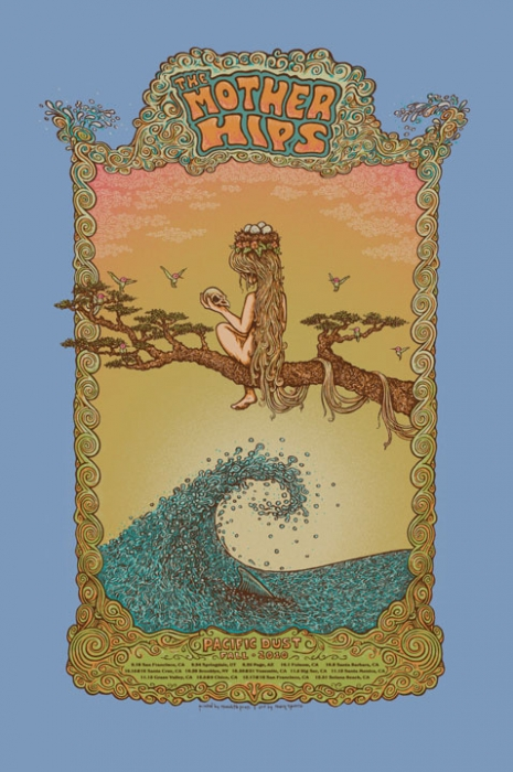 The Mother Hips - Pacific Dust Fall Tour Poster