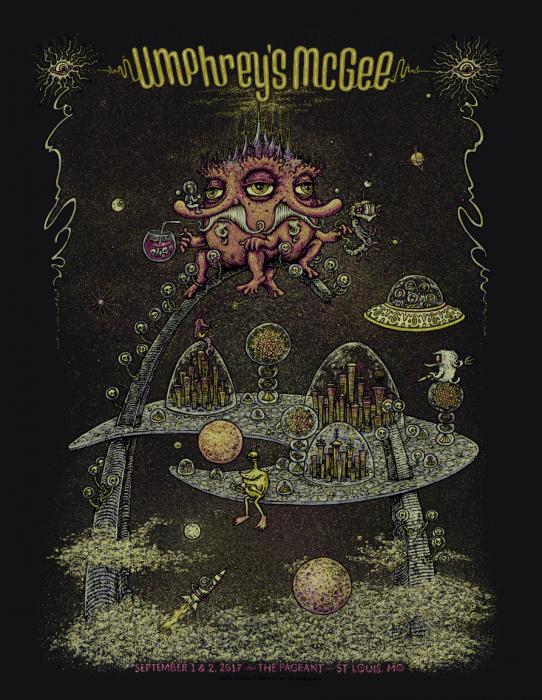 Umphrey's McGee - St. Louis Poster