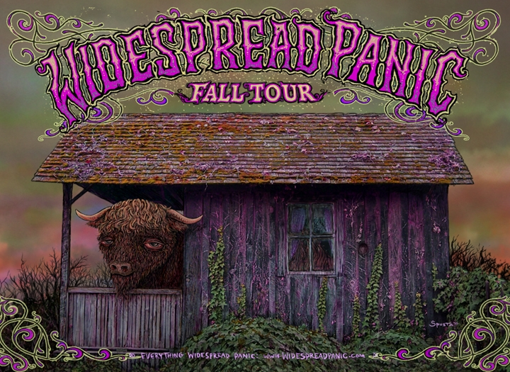 Widespread Panic Fall Tour