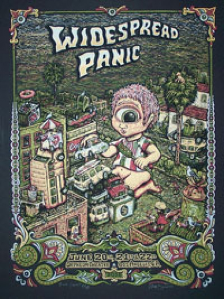 Widespread Panic Los Angeles