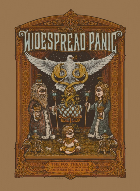 Widespread Panic - Fox Poster