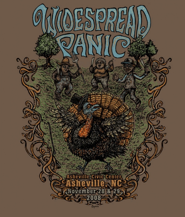 Widespread Panic Shirt Graphic