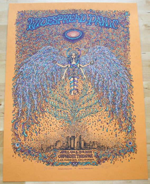 Widespread Panic LA Orange Variant