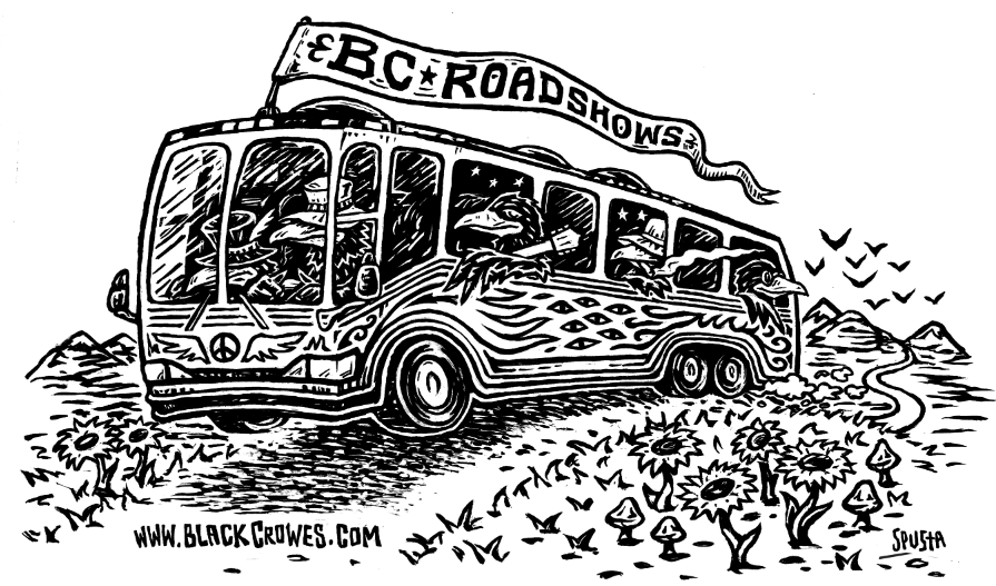 The Black Crowes Graphic for BC Roadshow