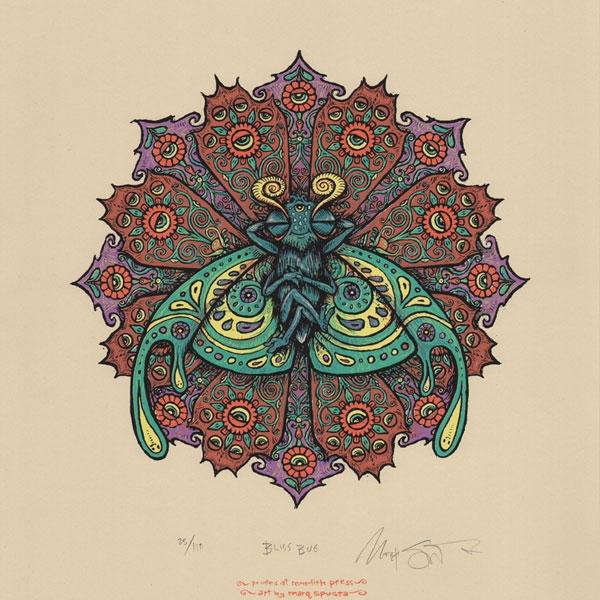Bliss Bug Print