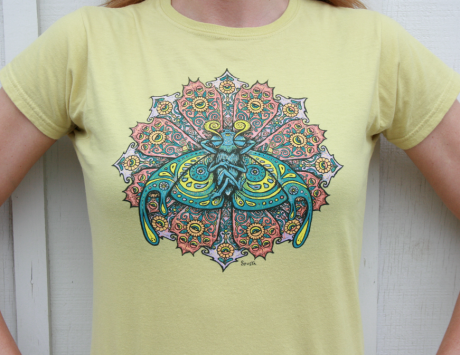 Bliss Bug Ladies shirt