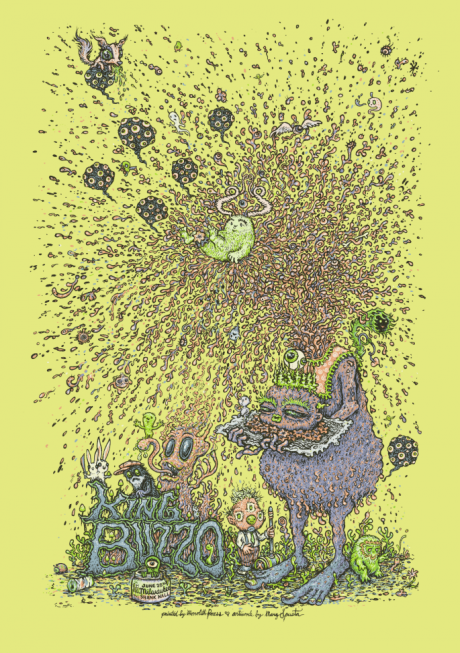 King Buzzo (of The Melvins) MKE Poster